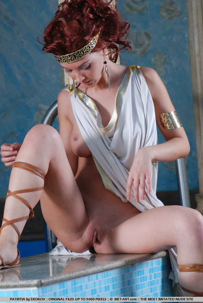 Nude ancient greek females join