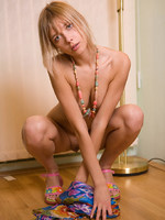 sofia is new to us-with dirty blonde hair-small breasts and a pouty look.